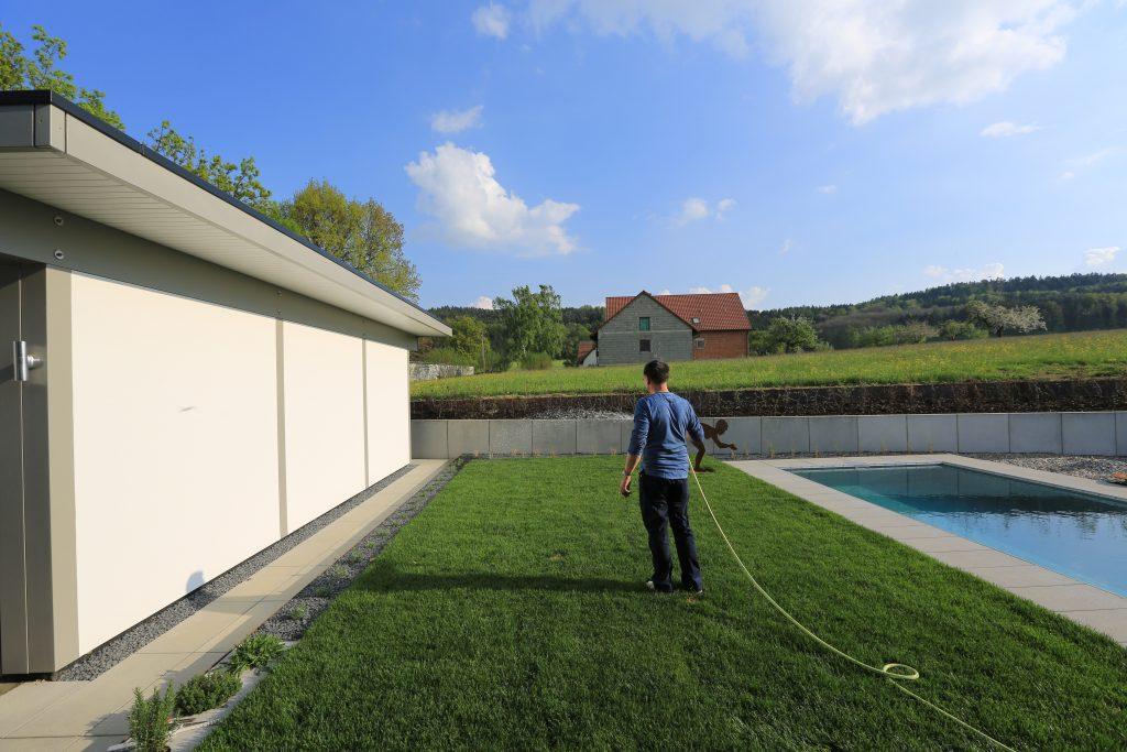 Garten, Garage, Privatsphäre, Architekt