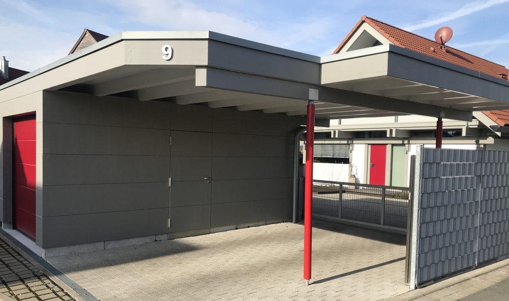 Garage Huf Art grau