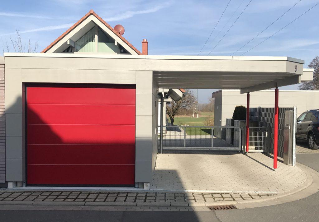 Garage Huf Art grau, Teil2