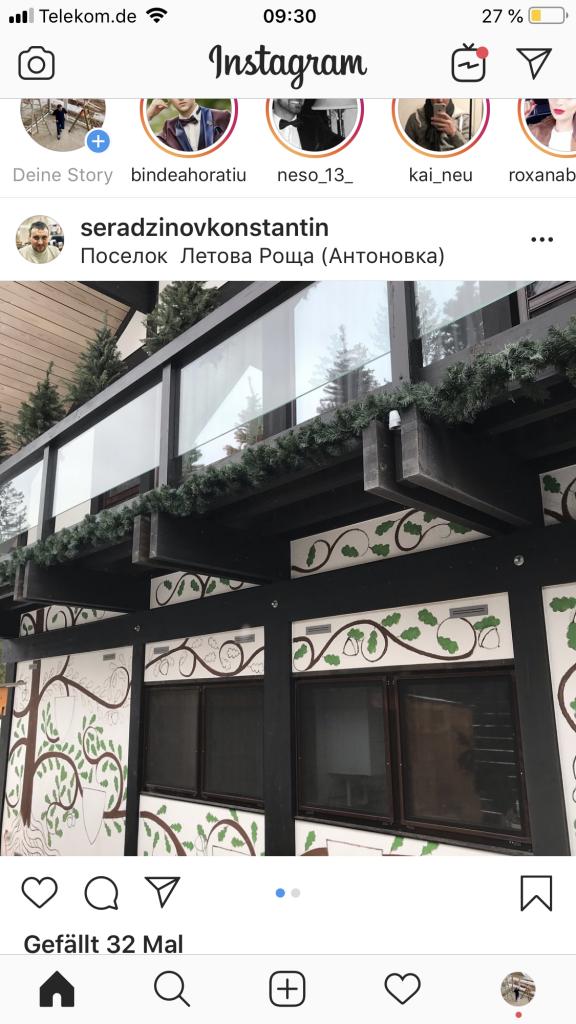 moderne Fachwerkhäuser in russland